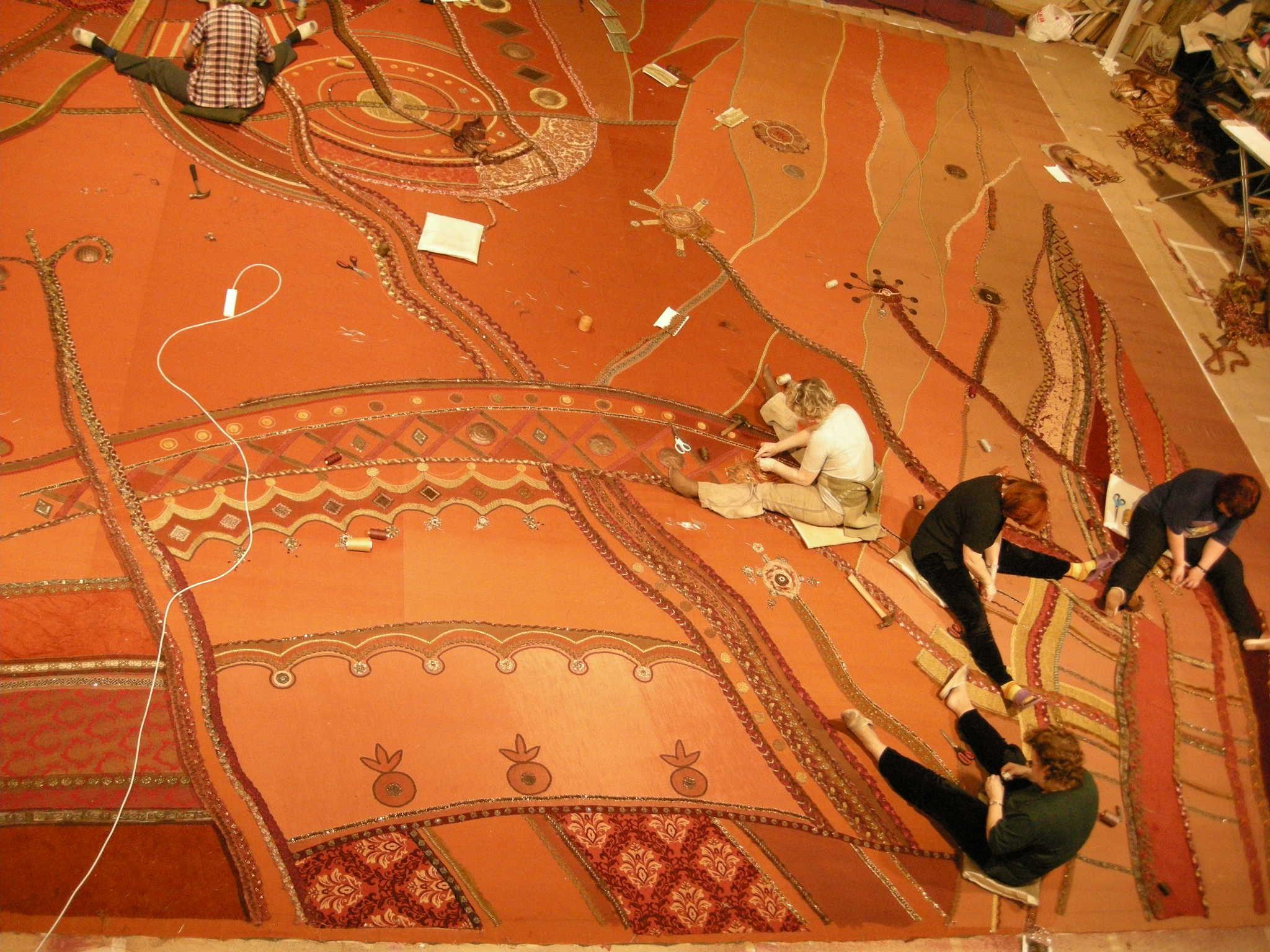текстильное оформление интерьеров